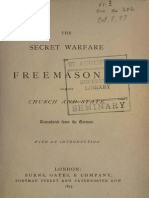 The Secret Warfare of Freemasonry