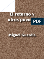 El retorno y otros poemas - Miguel Guardia