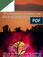 Da en Proporcion a La Manera