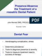 Parental Presence vs Absence - Dr. Julie Maniate
