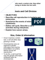 Ch 6-2 Mitosis & Cell Division