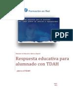 Respuesta Educativa Para Alumnado Con TDAH - 1