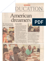 1998 Article About Payman,  American Dreamer, Deseret News, 1998