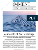 Vast Costs of Arctic Change