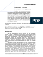 Cellulosic Nanocomposites - A Review