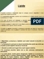 Biochimie-curs 10 Lipide