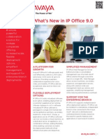 IP Office 9.0 What is New