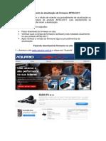 Procedimento de atualização de firmware AP3G