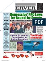 Liberian Daily Observer 01/28/2014