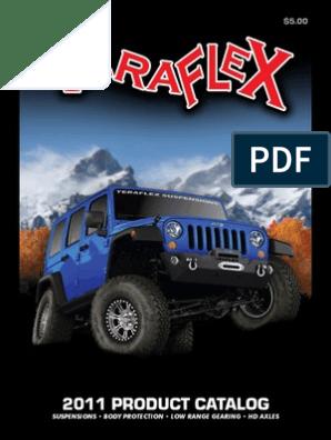 Polyurethane Set of Four Shock Stem Bushings for Front Shocks on most Jeeps