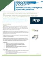 (169383025) QRadar Appliance Datasheet
