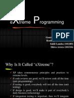 Xtreme Programming.