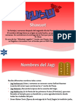 Shavuot - Descripción del Jag