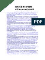 Sally Kohn - Să încercăm corectitudinea emoțională