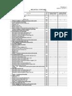 Formular nr. 1 Bilanţul contabil