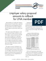 Bargaining Factsheet - Rollback