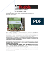 17-01-2014 Sexenio Puebla - El reto de México, atender zonas metropolitanas, Moreno Valle
