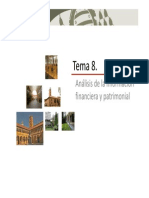Tema 8 Analisis Financiero y Patrimonial
