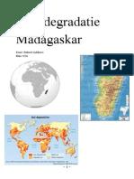 Landdegradatie Madagaskar.