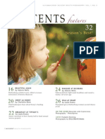 accent october table of contents