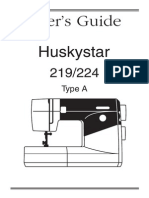 Huskystar 219 224 Manual En