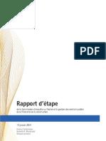 Charbonneau interim report