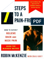 7 Steps to a Pain-Free Life How to Rapidly Relieve Back and Neck Pain.