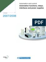 Zelio Logic Catalogo 2007 En