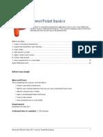 PDF PowerPoint Tutorial - PowerPoint Basics