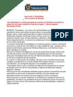 com 0062, 180205 Acuerdan gobernadores desarrollo sustentable de la Cuenca de Burgos.