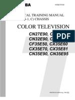 7520950 Toshiba CN27E90 TV Technical Training Manual