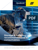 Storage and Handling of Welding Consumables