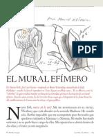 El Mural Efimero de Jose Luis Cuevas