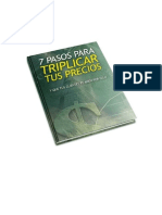 Reporte 7 Pasos Para Triplicar o Cuadriplicar Tus Precios