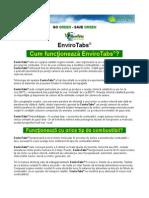 EnviroTabs - prezentare comerciala