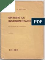 Síntesis de Instrumentación(Compocision y Orquestacion)