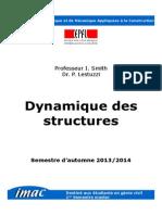 Dynamique Des Structures Mastere 1