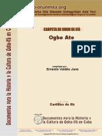 014 Carpetas Serie 1 Ogbe Ate