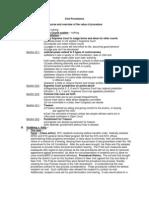 Civil Procedure Class Notes