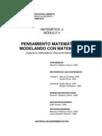 Matematica 2 Ingenieria - Pensamiento Matematica y Modelados