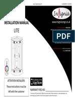 Insignia Lite Instructions
