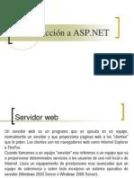 2.1 - Introduccion a ASP .NET