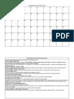 tarefa 3 calendário de atividade física
