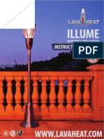 Lava Heat Italia - Illume outdoor light post - Owners Manual