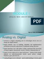 Analog AND DIGITAL CIRCUIT DESIGN