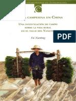 Xiaotong, Fei - La Vida Campesina en China