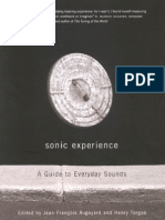Augoyard, Jean-Francois; Torgue, Henry (Eds.) - Sonic Experience. a Guide to Everyday Sounds