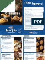 Kraft - Fresh Take Recipe Booklet