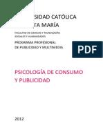 Psicología de consumo y publicidad