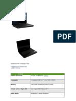 Notebook HP Compaq 6730s